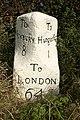 Mile stone - geograph.org.uk - 603903.jpg