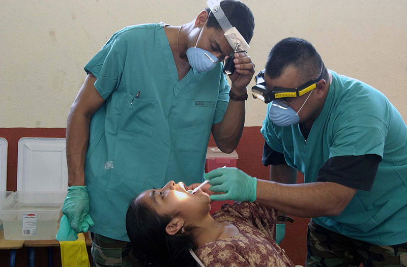 File:Military dentists in Guatemala.jpg