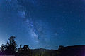 Milky Way over Longs Peak, Colorado - 10 June 2013.jpg