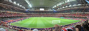 2017 UEFA Champions League Final - The Millennium Stadium in Cardiff hosted the final.