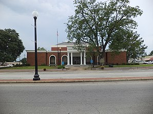 Das Miller County Courthouse in Colquitt