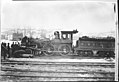 Milwaukee & St. Paul No 27 4-4-0 steam locomotive after failure of the middle course of the boiler.jpg