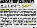 Mimaland to close (The Straits Times, Page 2. 12 February 1983).jpg