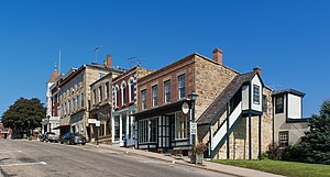 Iowa County, Wisconsin - Mineral Point high street