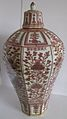 Ming Dynasty-Octagonal Jar (Meiping) painted in copper-red underglaze.JPG