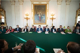 Second Kurz government Second chancellorship of Sebastian Kurz, January 2020 to October 2021
