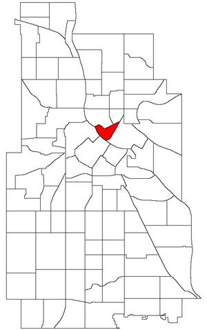 Nicollet Island/East Bank, Minneapolis - Image: Minneapolis Nicollet Island East Bank Neighborhood