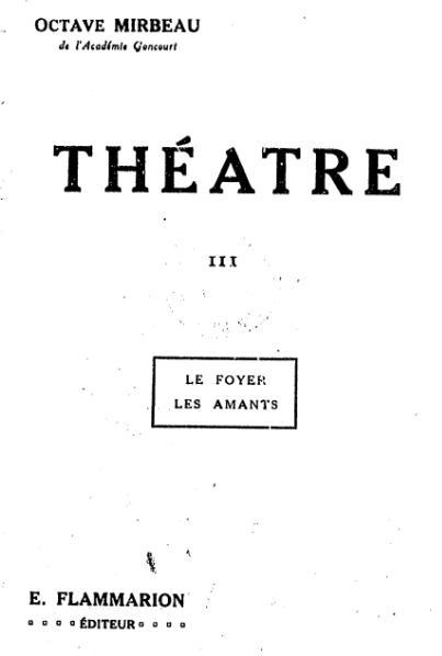 File:Mirbeau - Théâtre III.djvu