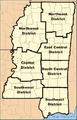 MississippiForestryCommission DistrictMap.png