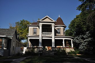 National Register of Historic Places listings in Davison County, South Dakota - Image: Mitchell SD John F Anderson House