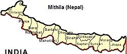 Location of Maithil