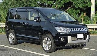 Mitsubishi Delica Range of vans and pickup trucks