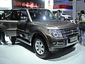 Mitsubishi Pajero CN Spec V6 3.0L In the 14th Guangzhou Autoshow 08.jpg