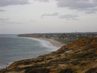 Moana, South Australia - A view of Moana from the south