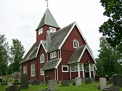 Moen chapel, Gran, Norway.JPG