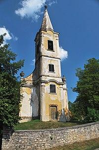Monoszlói református templom tornya.jpg