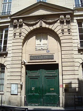 illustration de Crédit municipal de Paris