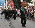 Montanverein Norisches Eisens Parade in Lienz 2009.JPG