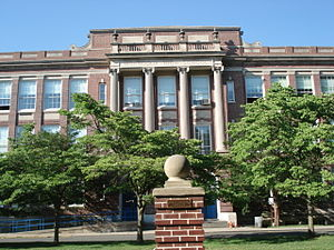 Montclair High School (New Jersey) - Image: Montclair High Main Front