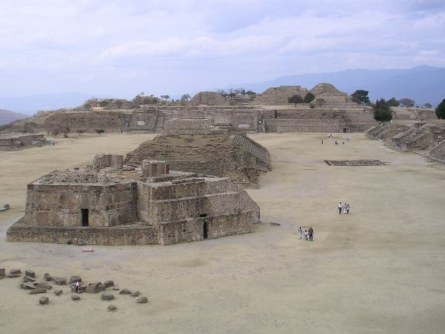 Monte Albán archeological site, Oaxaca