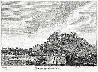 Montgomery Castle, Pl.2