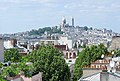 Montmartre from Butte Bergeyre, Paris 12 May 2011.jpg