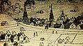 Montréal, vers 1800. Panorama depuis un flanc du mont Royal. (6799326756).jpg