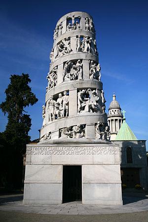 Antonio Bernocchi - Tomb of Antonio Bernocchi in the Cimitero Monumentale di Milano, 1936