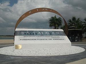 "Sanlúcar de Barrameda 2019–2022 - ""Legua Cero"" monument commemorating the first world circumnavegation. Sanlúcar de Barrameda, Cádiz, España."