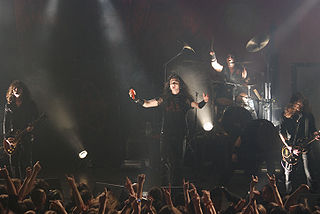 Moonspell Portuguese heavy metal band