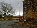 Moor Lane postbox, near Kirkburton - geograph.org.uk - 1172349.jpg