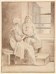 Mor og datter - Eckersbergs værtinde i Paris