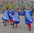 Morris dancers, York (26644118715).jpg