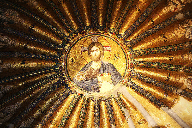 File:Mosaic of Christ in Karye Museum (Chora Church), Istanbul.jpg