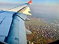 Moscow city from Delhi - Moscow airplane (October 2018) 1.jpg
