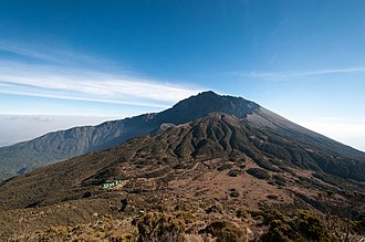 Mount Meru (Tanzania) - The Mount Meru in the year 2012.