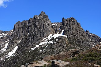 Mount Ossa (Tasmania) - Mount Ossa pictured in 2009