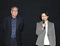Ms. Sharmila Tagore, actress and Shri Saumitra Chatterjee, actor at the presentation of the film 'Apur Sansar', during the 40th International Film Festival (IFFI-2009), at Panaji, Goa on November 30, 2009 (1).jpg