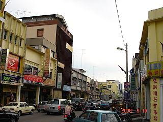 Muar (town) City in Johor, Malaysia