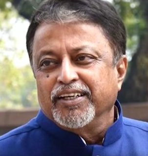 Mukul Roy Indian politician