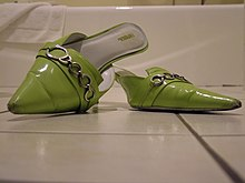 Mule (shoe). From Wikipedia, the free encyclopedia