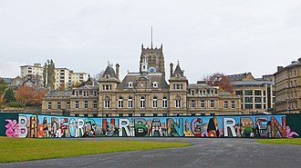 Forster Square - Mural at the temporary Urban Garden