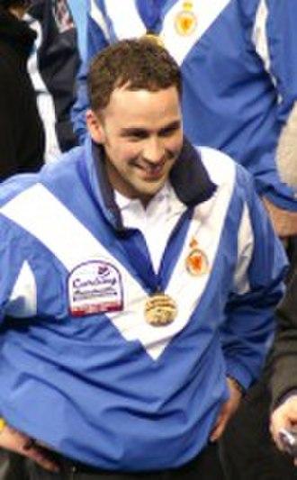 World Curling Championships - Scotsman David Murdoch is a two-time world champion.