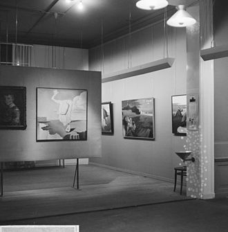 Museum Fodor - Painting exhibition in 1966