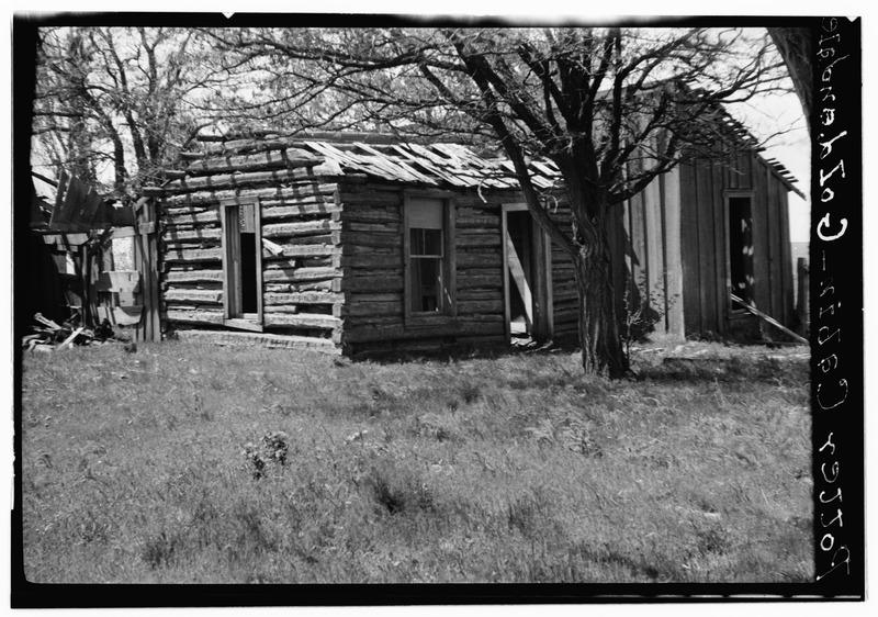 File:Myron Potter Cabin, Goldendale, Klickitat County, WA HABS WASH,20-GOLD.V,2-1.tif