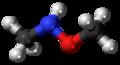 N,O-Dimethylhydroxylamine 3D ball.png