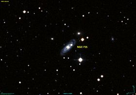 Image illustrative de l'article NGC 735