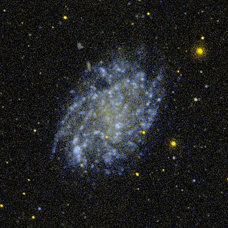 Low Surface Brightness galaxy - An image of NGC 45 , a low surface brightness spiral galaxy, by GALEX.