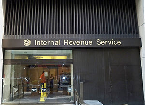 IRS targeting controversy - Exterior of an Internal Revenue Service office.