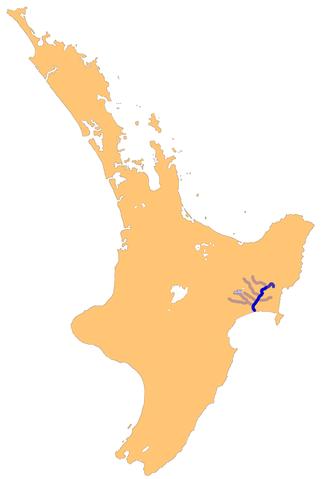 Wairoa River (Hawke's Bay) - Hawke's Bay's Wairoa River system
